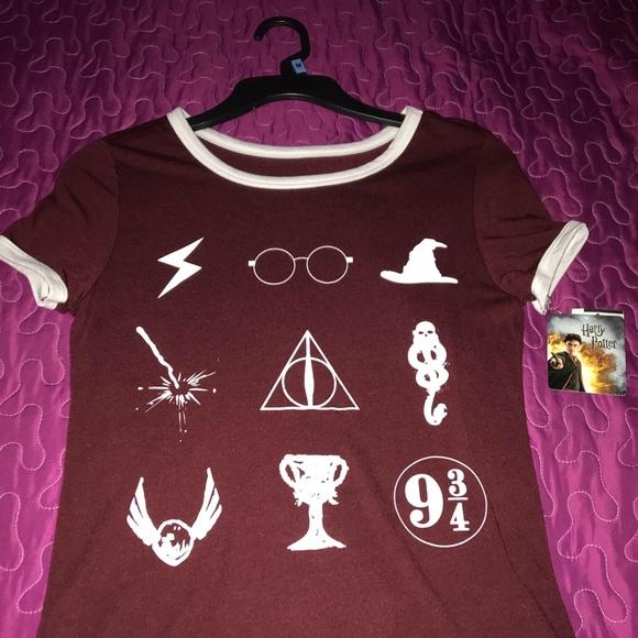 Tops Harry Potter Symbols Shirt Poshmark